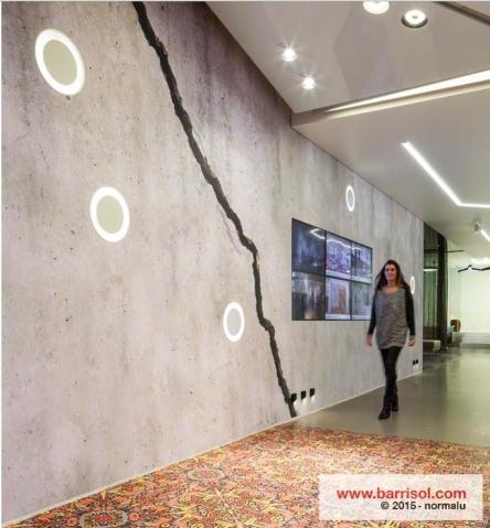 Effet béton pour toile murale ou plafond tendu BARRISOL