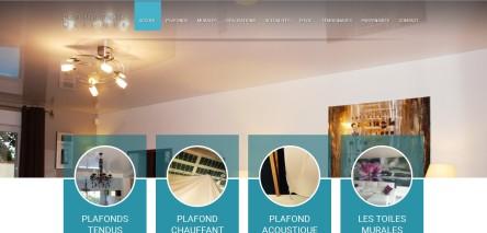 Plafonds Tendus Occitans et son futur site internet