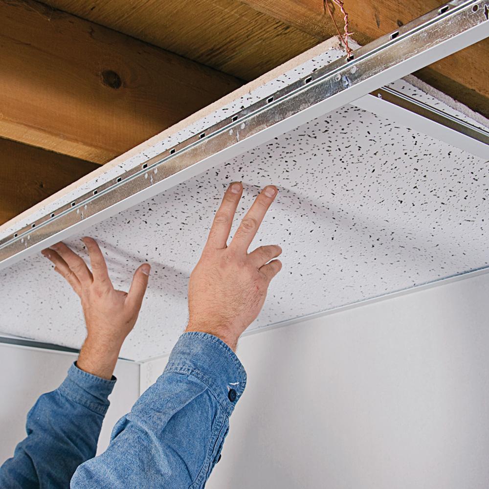Plafond Tendu Et Plafond Suspendu Pose De Faux Plafonds En Toile