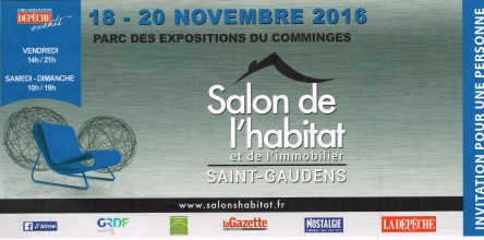 Invitation salon St Gaudens - Plafonds Tendus Occitans (31)