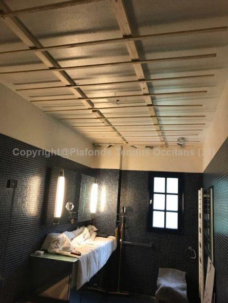 Plafond imprimé rétro-éclairé by Plafonds Tendus Occitans (31)